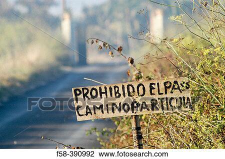 förbjuden spansk stor