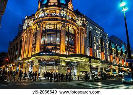 marais paris shopping