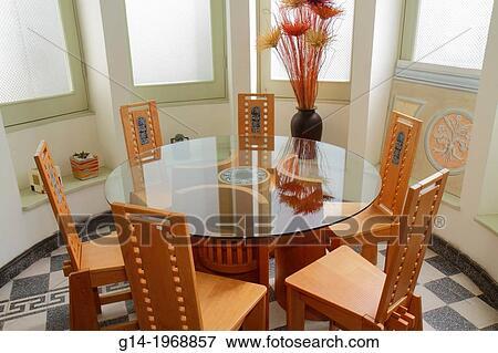 Avenida El Libertador San Martin Art Furniture Gallery Artesanos Don Bosco Religious Non Profit Skilled Artisans Wood Chair Table Dining Set