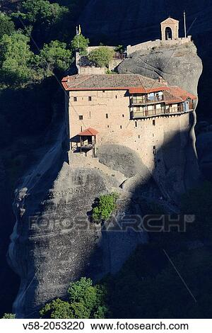 Paruošta fotografija - Greece, Thessaly, Meteora, World ...