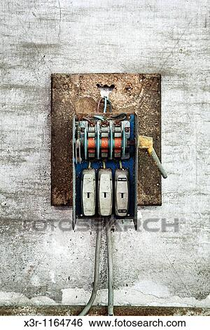 stock images of old electric fuse box x3r 1164746 search stock stock image old electric fuse box fotosearch search stock photography poster photos