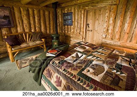 Colecci n de foto interior de un hu sped caba a en invierno lago lodge verano en - Cabana invierno ...