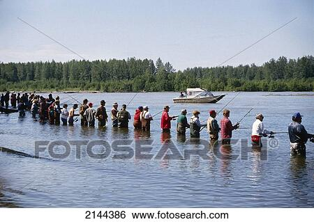 Stock images of combat fishing on the susitna river for Willow creek fishing