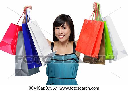 Unique Woman With Shopping Bags Uk Stock Photos Amp Woman With Shopping Bags Uk