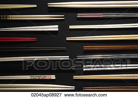 教师手工筷子粘贴画