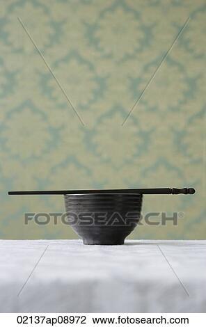 筷子手工粘贴画