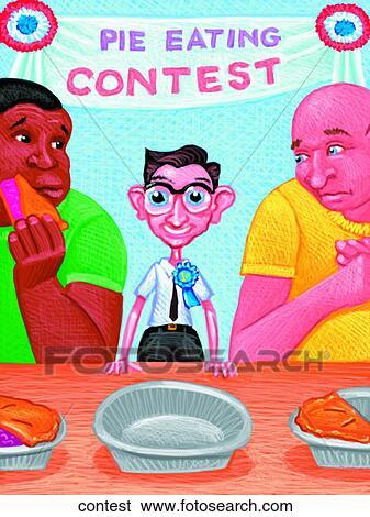 Stock Illustration of Contest contest - Search Clip Art ...