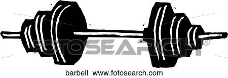 clipart of barbell barbell search clip art illustration murals rh fotosearch com barbell clipart black and white barbell clipart free