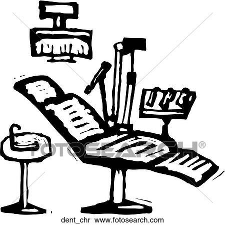 Clipart of Dental Chair dent_chr - Search Clip Art ...