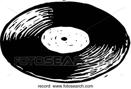 Record album Clip Art Royalty Free. 1,640 record album clipart ...