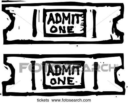 Ticket Clip Clip Art Tickets