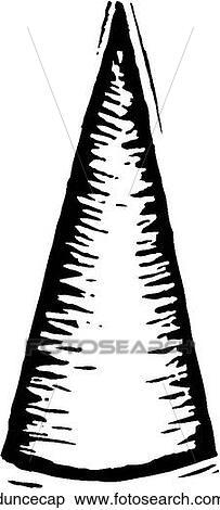 Clipart Of Dunce Cap Duncecap Search Clip Art
