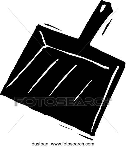Clipart of Dustpan dustpan - Search Clip Art, Illustration Murals ...
