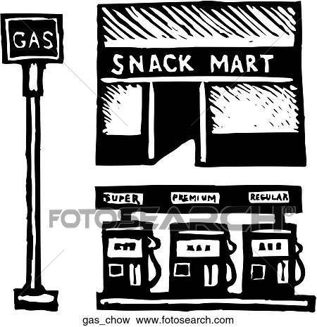 Clip art gas futter gas chow suche clipart poster - Wandbild petrol ...