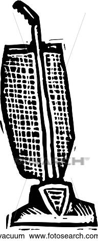 Clipart of Vacuum vacuum - Search Clip Art, Illustration ... Vacuum Clipart Black And White