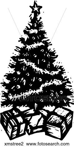 clipart weihnachtsbaum 2 xmstree2 suche clip art illustration wandbilder zeichnungen und. Black Bedroom Furniture Sets. Home Design Ideas