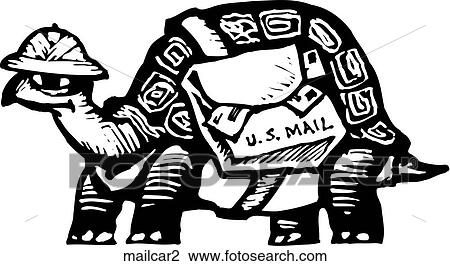 Clipart of Mail Carrier 2 mailcar2 - Search Clip Art ...