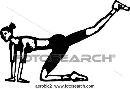 Aerobic Clipart Royalty Free. 10,360 aerobic clip art vector EPS ...