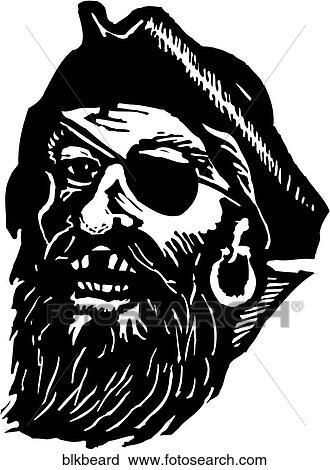 clipart of blackbeard blkbeard search clip art