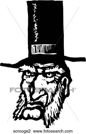 Clipart of Scrooge 2 scrooge2 - Search Clip Art, Illustration ...