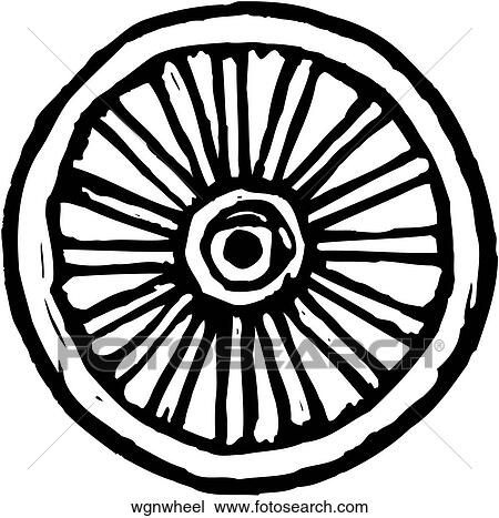 clipart of wagon wheel wgnwheel search clip art illustration rh fotosearch com free clipart wagon wheel covered wagon wheel clip art