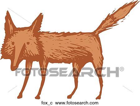 Clipart renard fox c recherchez des clip arts des - Clipart renard ...