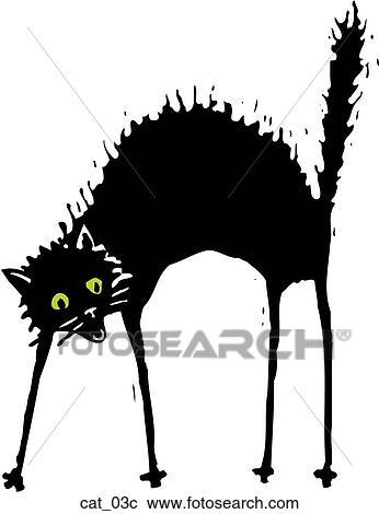 Clipart gatto 03 cat 03c cerca clipart illustrazioni for Gatto clipart