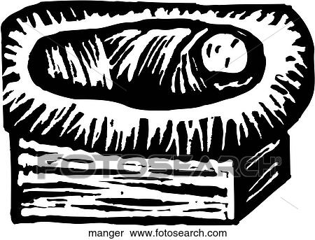 Clipart mangiatoia manger cerca clipart illustrazioni - Libero clipart storie della bibbia ...
