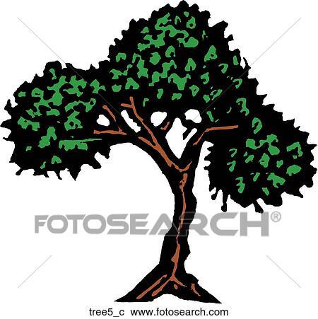 剪贴画 树, 5