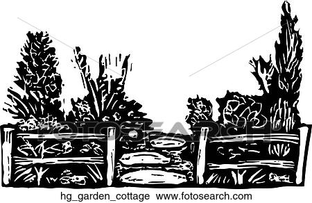 Clipart Of Garden