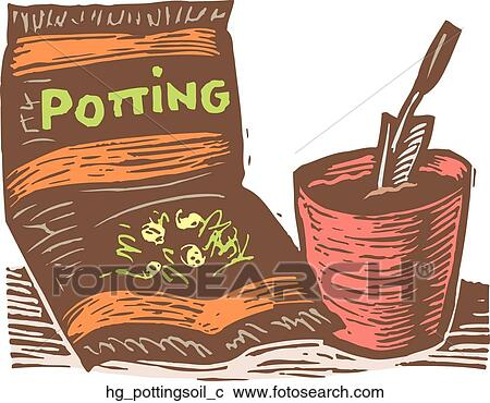 Clipart of potting soil hg pottingsoil c search clip art for Soil clipart