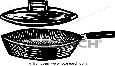 Skillet Pan Drawing Frying Pan