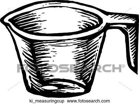 Messbecher clipart  Clipart - meßbecher ki_measuringcup - Suche Clip Art, Illustration ...