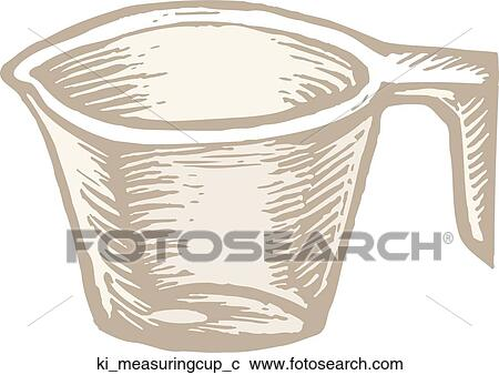 Messbecher clipart  Clipart - meßbecher ki_measuringcup_c - Suche Clip Art ...