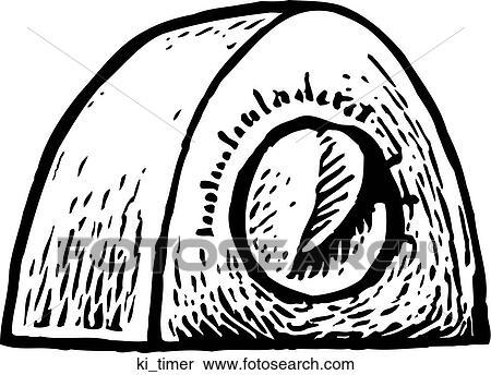 clipart zeitgeber ki timer suche clip art illustration wandbilder zeichnungen und vector. Black Bedroom Furniture Sets. Home Design Ideas