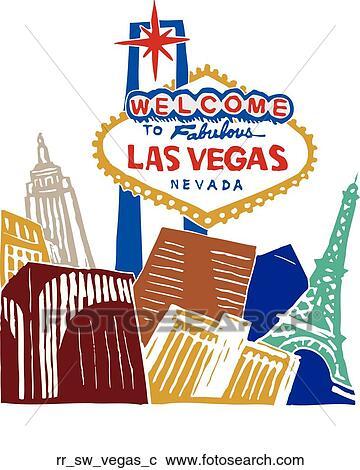 Clip Art Las Vegas Clip Art clip art of las vegas rr sw search clipart illustration vegas