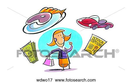 Stock Illustration of Rewards wdwo17 - Search EPS Clipart ...