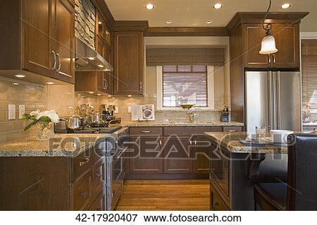 Picture Of Traditional Kitchen With Tiled Backsplash 42