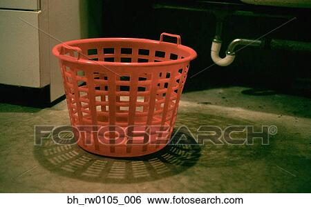 Empty Laundry Basket Clipart Stock Images of...
