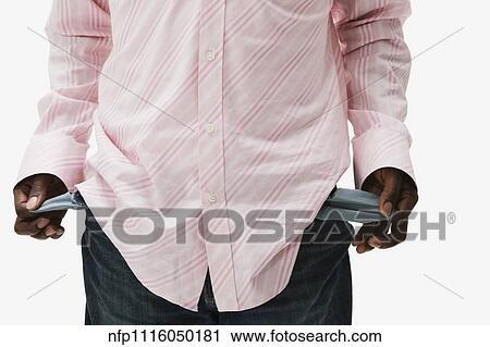 banques de photographies homme africain tourner pantalon poches envers nfp1116050181. Black Bedroom Furniture Sets. Home Design Ideas