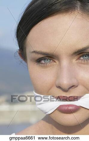 Frauen Knebeln