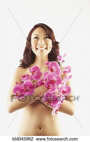 Femmes asiatiques libres nues
