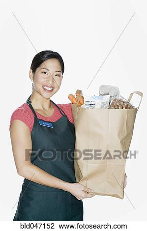 Excellent Woman With Shopping Bags Stock Photos  Image 33498103