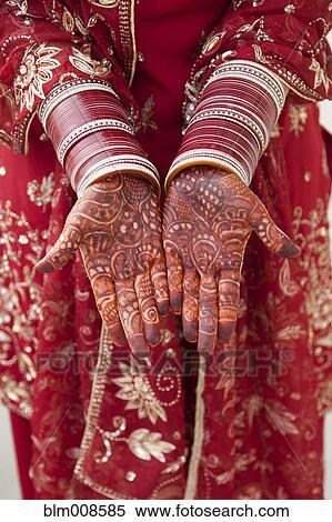 Stock bild aufwendig indische deko auf kaukasisches for Indische deko
