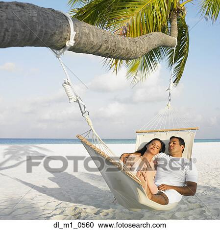 Stock Photography Of Couple Sleeping In A Hammock Dl M1 0560