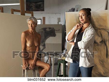 Déshabillé femme nue