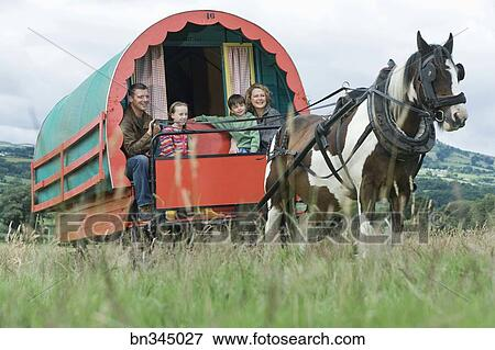 New Horse Drawn Gypsy Caravan In Ireland  Around The Gypsy Fire  Pinter