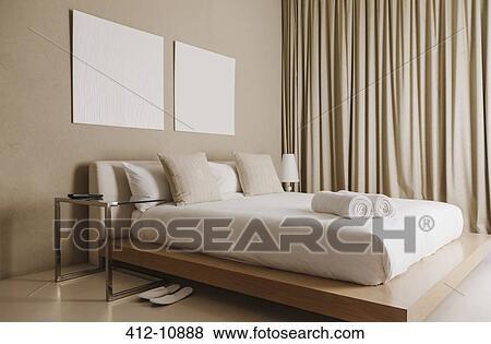 Billeder   platform, seng, ind, moderne, soveværelse 412 10888 ...