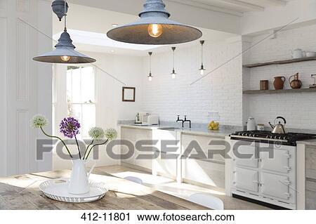 Stockfotografering   luksus, køkken 412 11801   søg i stockfotos ...