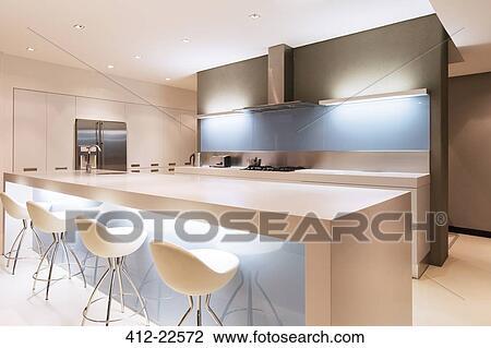 Keuken verlichting eiland for Foto witte keuken